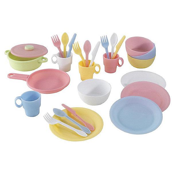 Купить Набор посуды KidKraft, 27 предметов, Китай, разноцветный, Унисекс