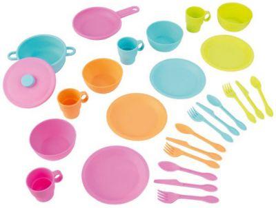 KidKraft Набор посуды KidKraft Делюкс, 26 предметов набор посуды kidkraft делюкс 63319 голубой зеленый розовый