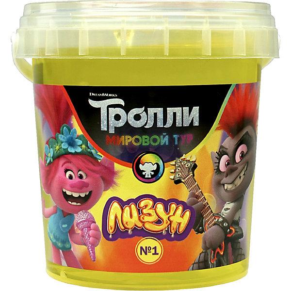 Купить Лизун Master IQ2 Тролли, 150 гр, Россия, желтый, Унисекс