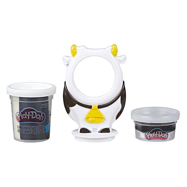 Купить Набор игровой Плей-До Жители фермы Корова PLAY-DOH E7482, Hasbro, Китай, разноцветный, Унисекс