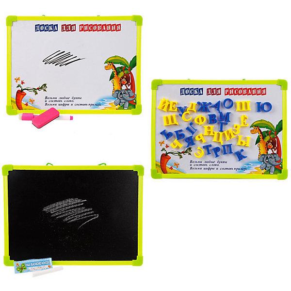 Купить Доска для рисования 2-в-1 Наша Игрушка, с аксессуарами, Китай, Унисекс