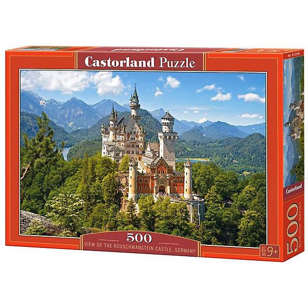 Пазл Castorland Вид на замок Нойшванштайн, 500 элементов