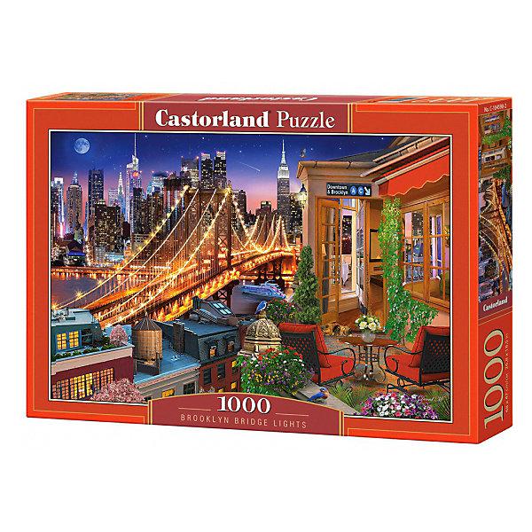 Купить Пазл Castorland Огни Бруклинского моста, 1000 элементов, Польша, Унисекс