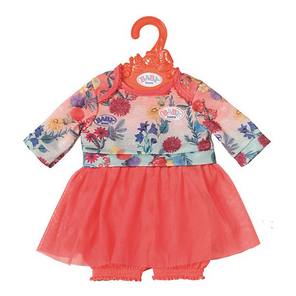 Zapf Creation Платье Baby Born c шортиками для куклы 43 см, розовое