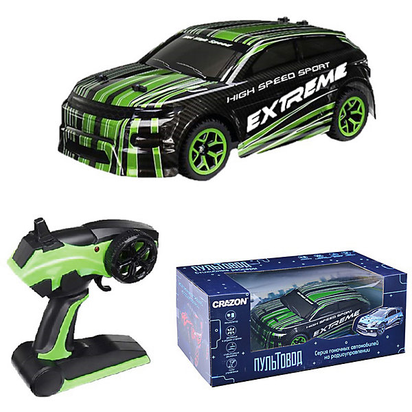 Купить Радиоуправляемая гоночная машина Zhorya, Китай, зеленый, Мужской