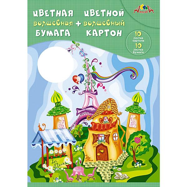 АппликА Набор для творчества Апплика Сказочный городок апплика набор для творчества апплика декоративные пайетки новый год ёлочки