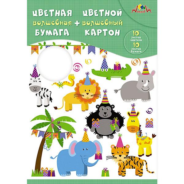 АппликА Набор для творчества Апплика Веселый праздник апплика набор для творчества апплика декоративные пайетки новый год ёлочки