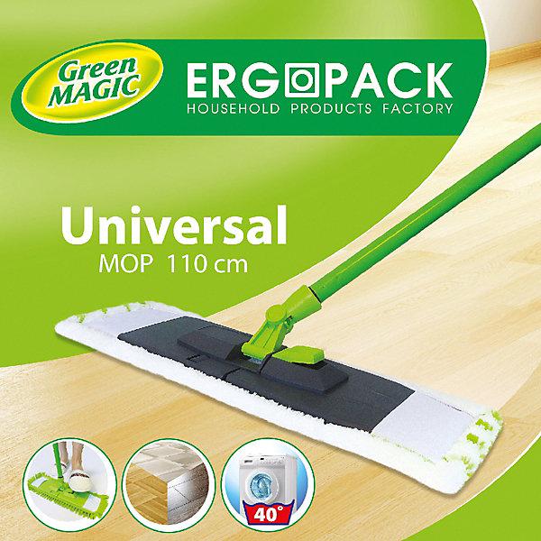 Швабра плоская ErgoPack Универсальная, 110 см