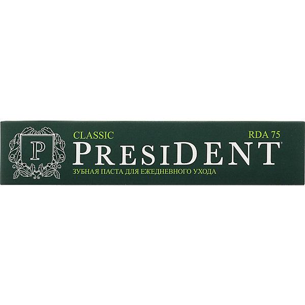 Купить Зубная паста President Classic, 75 мл, Россия, Унисекс