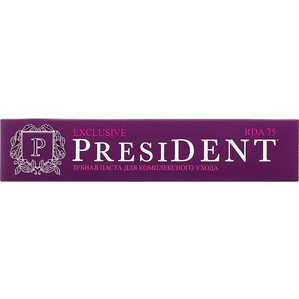 Купить Зубная паста President Exclusive, 75 мл, Россия, Унисекс
