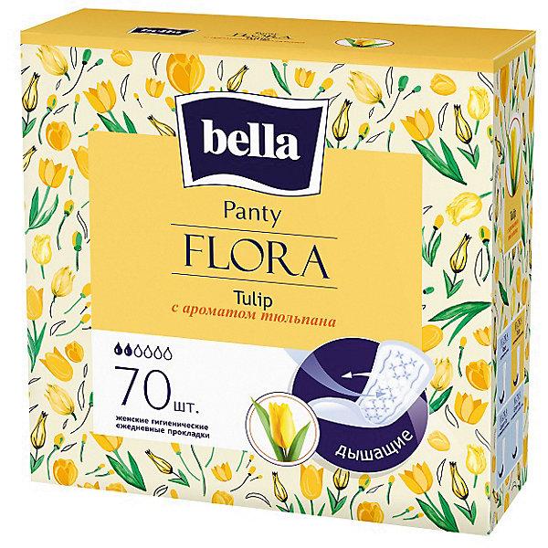 Ежедневные прокладки Bella Panty Flora Tulip 70 шт, с ароматом тюльпана