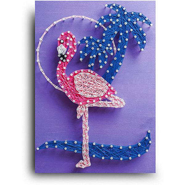 Купить Набор для творчества String Art Lab Фламинго, 30х21 см, Россия, Унисекс