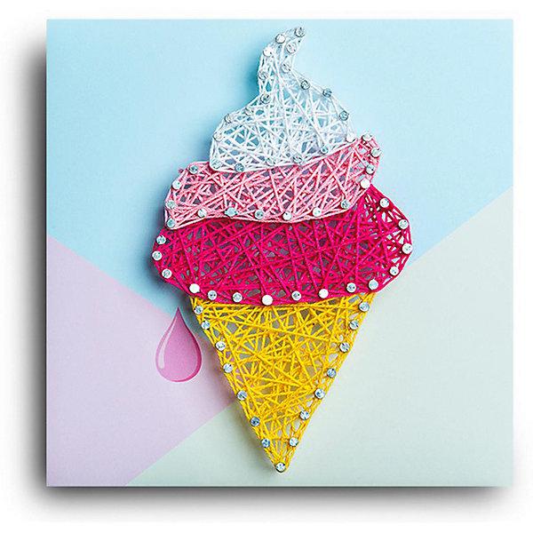 Купить Набор для творчества String Art Lab Мороженка, 19х19 см, Россия, Унисекс