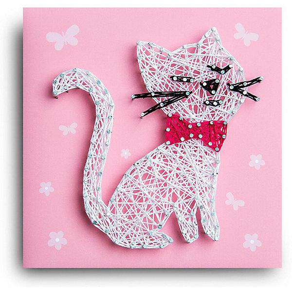 Купить Набор для творчества String Art Lab Кошка, 19х19 см, Россия, Унисекс