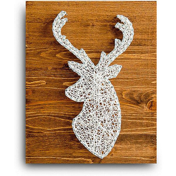 Купить Набор для творчества String Art Lab Олень, 30х21 см, Россия, Унисекс