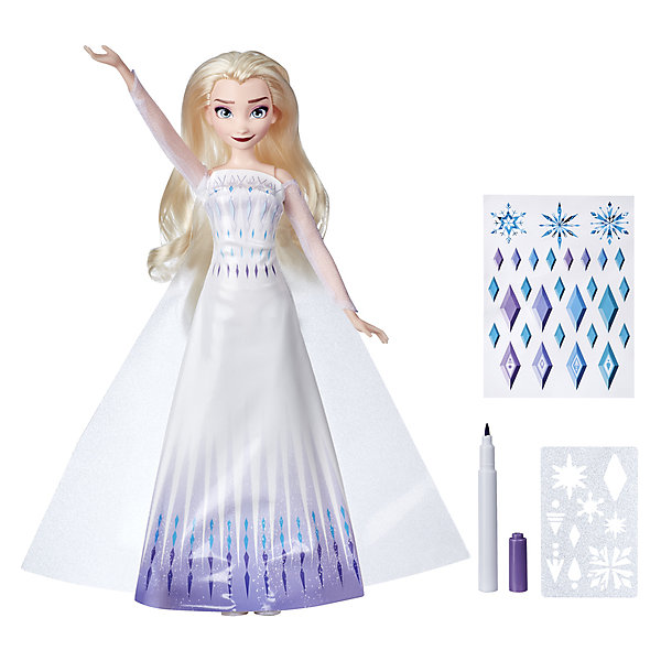 Hasbro Кукла Disney Princess Холодное сердце 2 Эльза, c аксессуарами кукла disney frozen рождество с олафом эльза e2658eu4