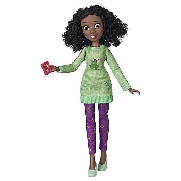 Hasbro Кукла Disney Princess Comfy Squad Тиана игрушка hasbro кукла princess disney модная ариэль e83975x0