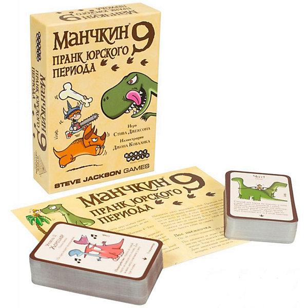 Hobby World Настольная игра Hobby World Манчкин 9: пранк юрского периода настольная игра hobby world мафия вся семья в сборе компактная 1070