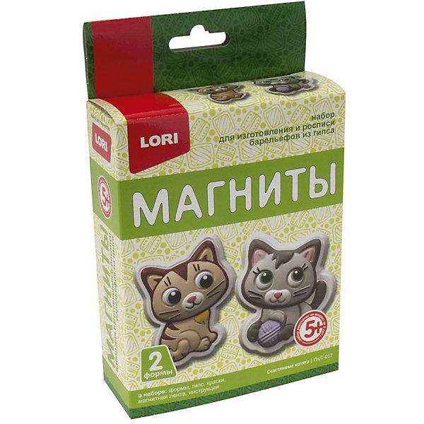 Купить Магниты из гипса Lori Счастливые котята, Россия, Унисекс