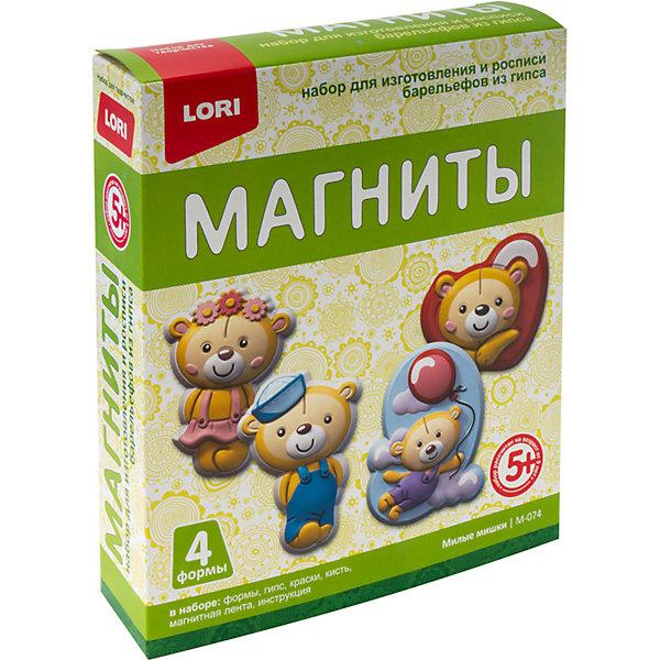 Купить Магниты из гипса Lori Милые мишки, Россия, Унисекс