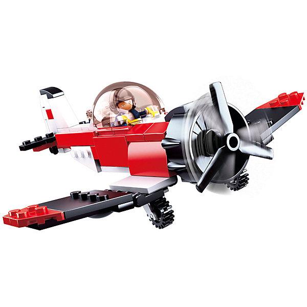 Купить Конструктор Sluban Авиация: пожарный моноплан, 128 деталей, Китай, Унисекс