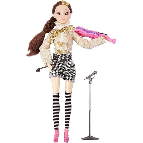 Шарнирная кукла Qian Jia Toys Скрипачка 28, 5 см, Китай, Женский  - купить со скидкой