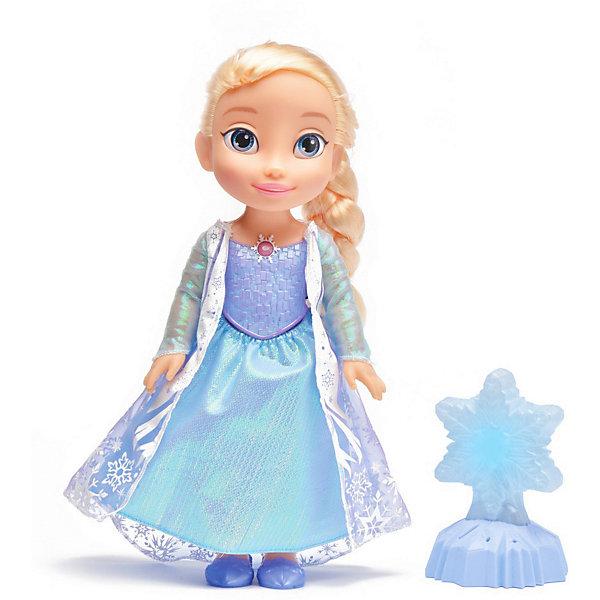 Интерактивная кукла Disney Холодное Cердце: Снежинка Эльзы, 35 см, свет, звук