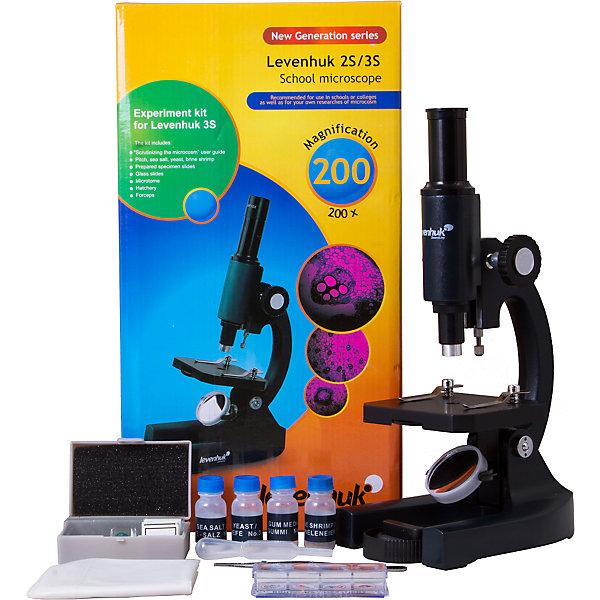 Levenhuk Микроскоп Levenhuk 3S NG, монокулярный микроскоп levenhuk 7s ng