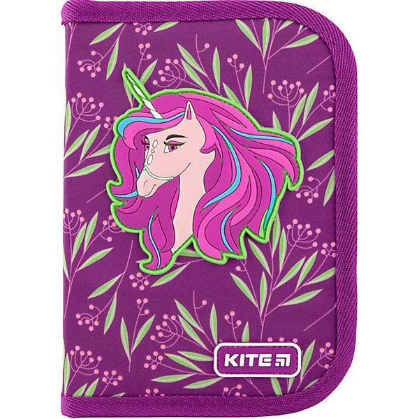 Купить Пенал Kite Lovely Sophie, без наполнения, Китай, фиолетовый, Женский