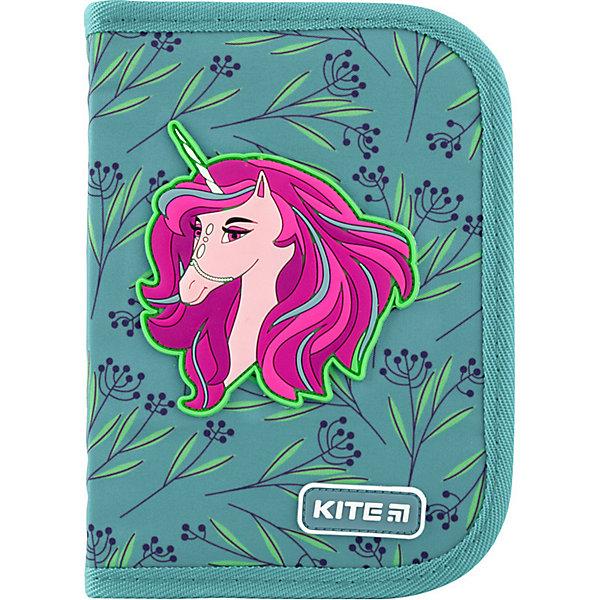 Купить Пенал Kite Lovely Sophie, без наполнения, Китай, аква, Женский