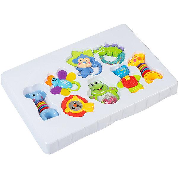 Baby Hit Набор погремушек Baby Hit First Toys, 8 штук