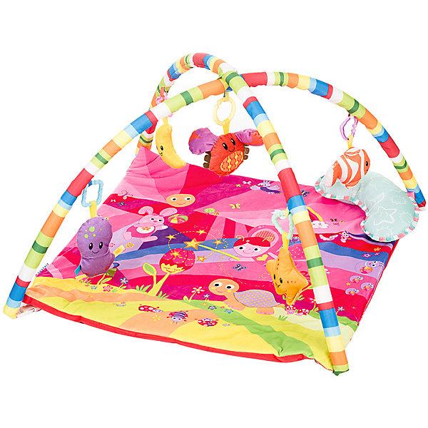Baby Hit Развивающий коврик Baby Hit Play Yard 2 Розовая мечта