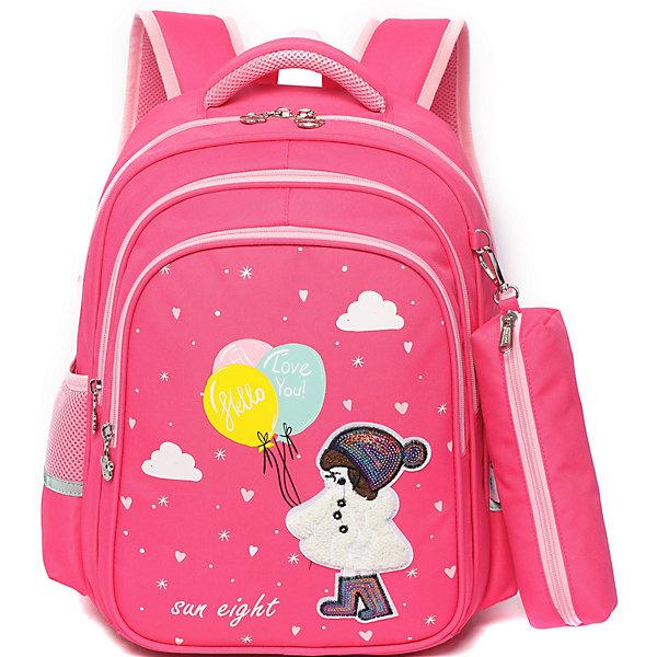 Aliciia Рюкзак Aliciia, с пеналом детский рюкзак xiaomi xiaoyang one body с пеналом розовый y2715 y0444