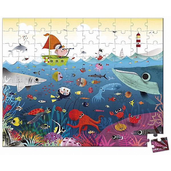 Купить Пазл Janod Подводный мир, 100 элементов, Китай, Унисекс