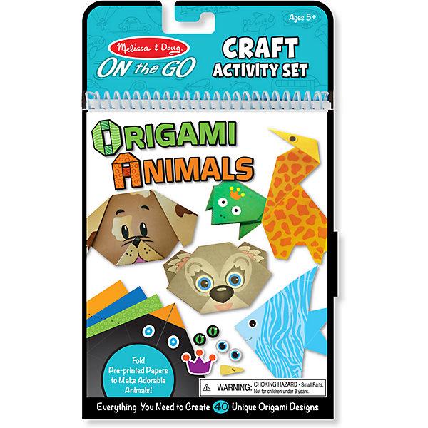 Купить Набор для оригами Melissa&Doug Животные, Melissa & Doug, США, разноцветный, Унисекс