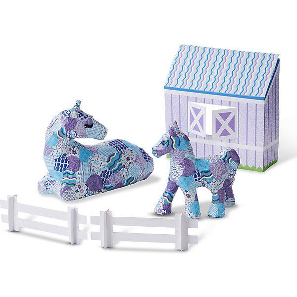 Купить Набор для декупажа Melissa&Doug Лошадка и пони, Melissa & Doug, США, разноцветный, Унисекс