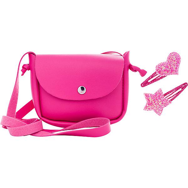 Сумочка Nomi «Фуксия» 11, 5х9х3 см, Китай, розовый, Женский  - купить со скидкой
