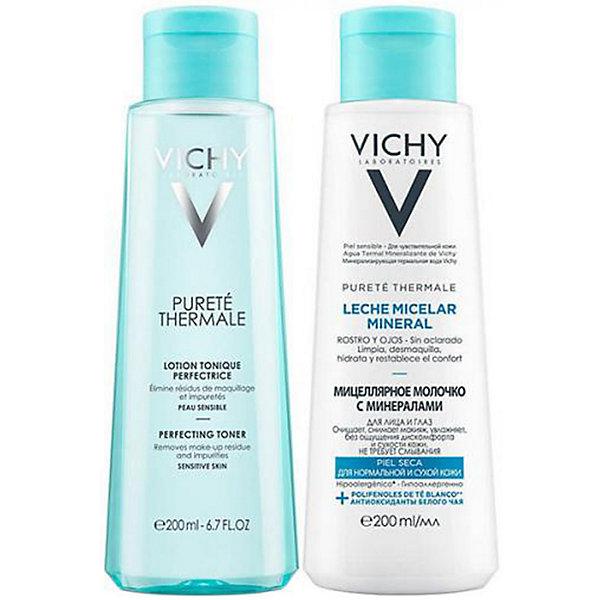 Совершенствующий тоник и мицеллярная вода Vichy,