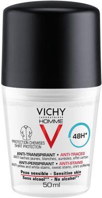 Vichy Дезодорант-антиперспирант против пятен Vichy Homme, 50 мл