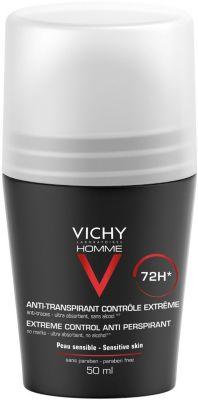 Vichy Дезодорант при избыточном потоотделении Vichy Homme, 50 мл