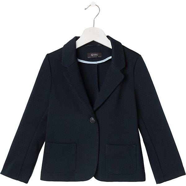 BTC Жакет BTC btc брюки для девочки btc темно синий 152 76 66