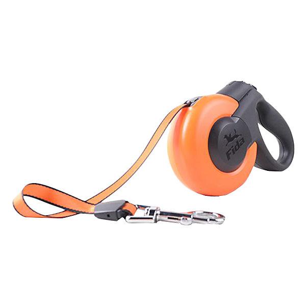 Fida Поводок-рулетка для собак мелких пород Fida Mars, до 12 кг fida fida mars рулетка 3м трос для собак мелких пород до 12 кг белая черная