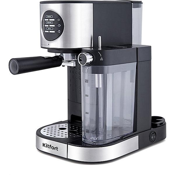 Кофеварка Kitfort, мощность 1230 1470 Вт