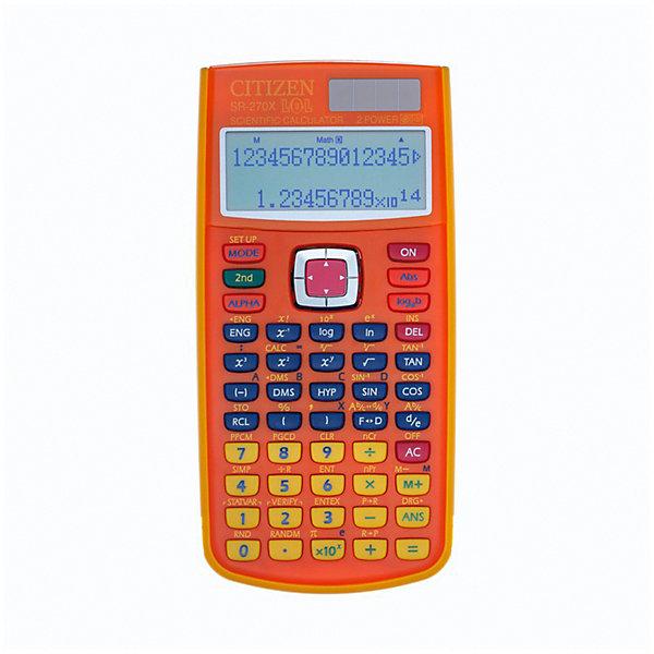 Калькулятор научный Citizen SR-270XLOLORCFS