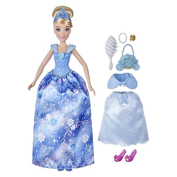 hasbro кукла одри светлые герои в платьях для коронации наследники disney Hasbro Кукла Disney Princess Золушка в платье с кармашками
