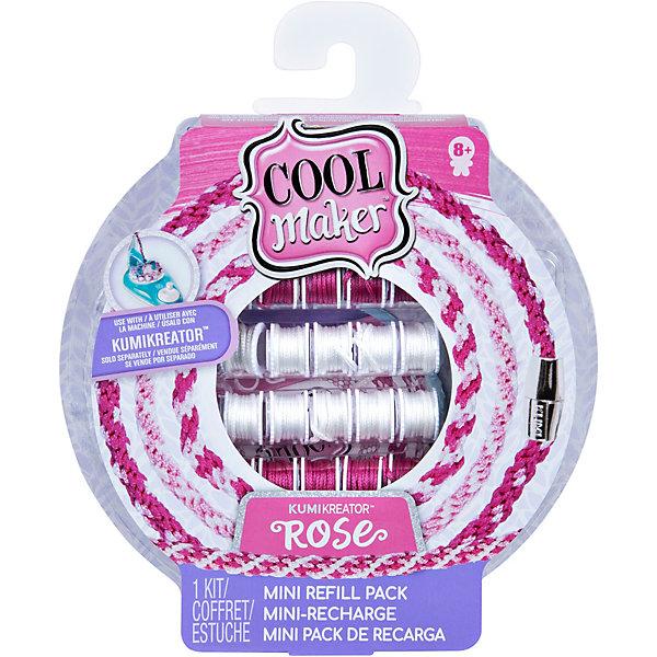 Купить Набор материалов для плетения браслетов и фенечек Cool Maker Куми Rose GML, малый, Spin Master, Китай, разноцветный, Женский