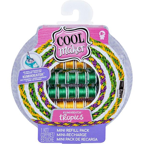 Купить Набор материалов для плетения браслетов и фенечек Cool Maker Куми Tropics GML, малый, Spin Master, Китай, разноцветный, Женский
