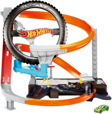 Картинка для Hot Wheels Автотрек Hot Wheels Шиномонтажная мастерская