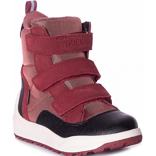 Утепленные ботинки Woden 16398093
