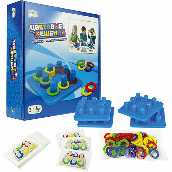 Игра настольная 1Toy Цветовые решения